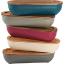 Boîte à pain en bambou blanc ventoux-FOUGAS