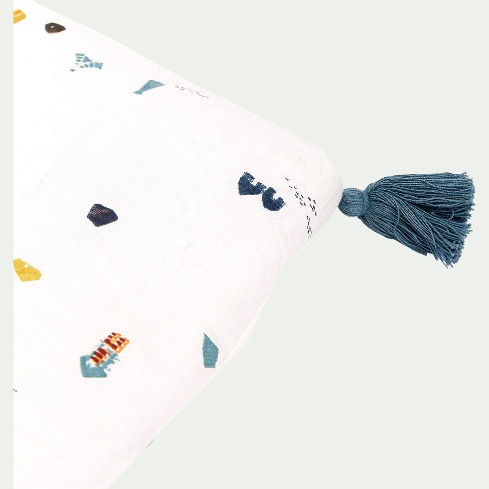 Coussin de banc en coton 33x94cm - multicolore-Cabane