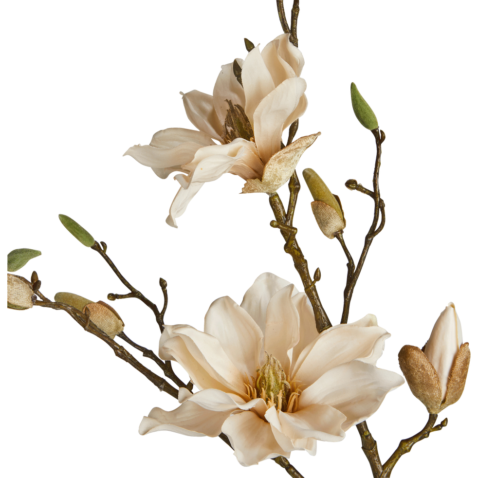 Fleur de magnolia artificielle H86cm - MAGNOLIA - déco ...