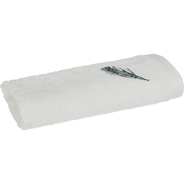 Serviette invité 30x50cm blanc ventoux-AMBIN