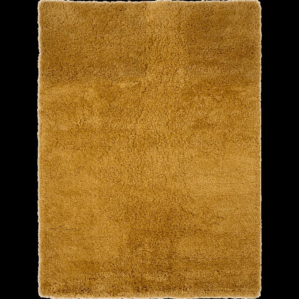 Tapis à poils longs beige nèfle 160x230cm-KRIS