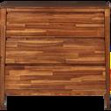 Commode 3 tiroirs en acacia massif-THAO