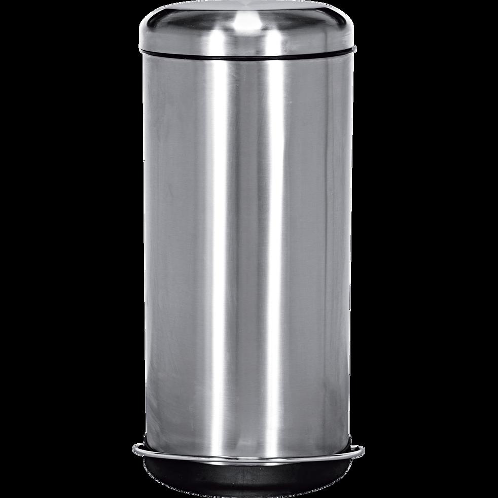 poubelle à pédale en inox 30l - java - catalogue storefront alinéa