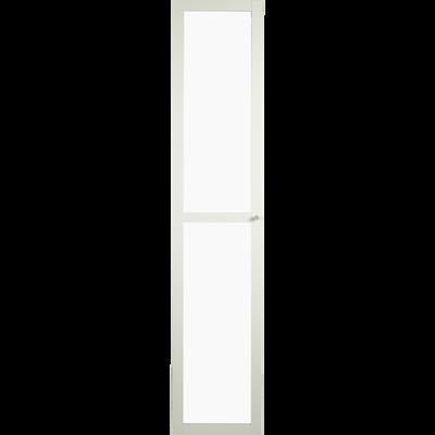 Grande porte vitrée coloris blanc-BIALA