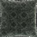 Coussin en coton vert cèdre 40x40cm-BATIK