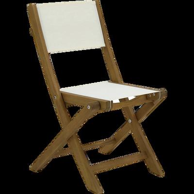 Chaise pour enfant écrue 33x39x57cm-FANNY