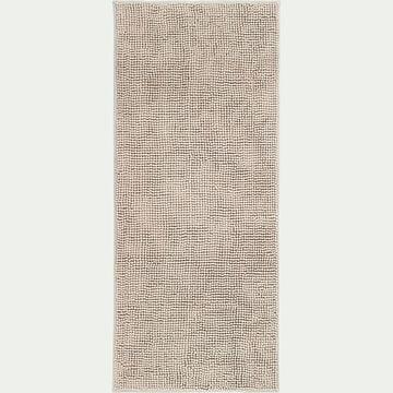 Tapis de bain rectangulaire antidérapant - l50xL120cm beige roucas-Picus
