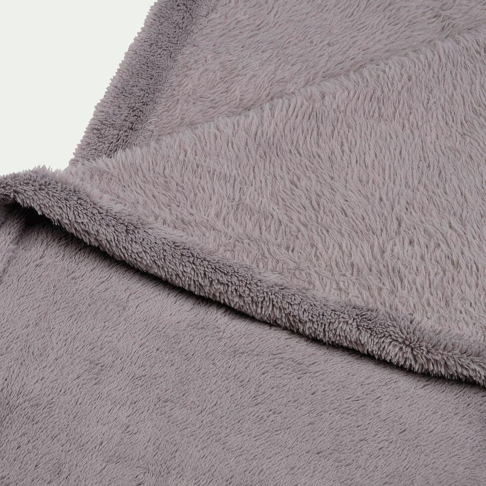 Plaid doux - gris restanque 230x250cm-ROBIN