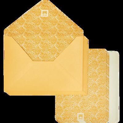 Lot de 20 enveloppes avec cartes amande-AMANDE