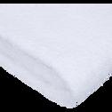 Serviette en coton 50x100cm blanc optique-AZUR