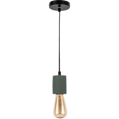 Suspension en béton vert cèdre H8,5xD6,5cm-PRAO