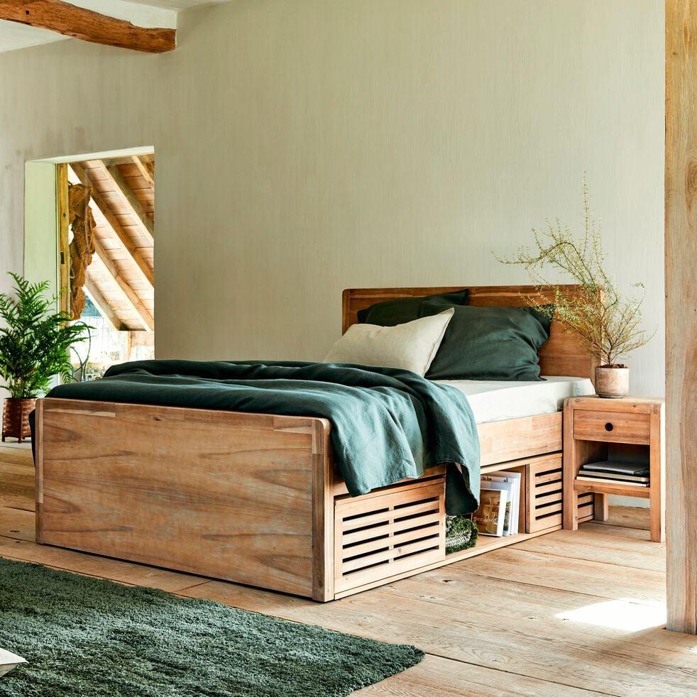 Tete De Lit Voile gaia - tête de lit acacia pour lit l140 cm