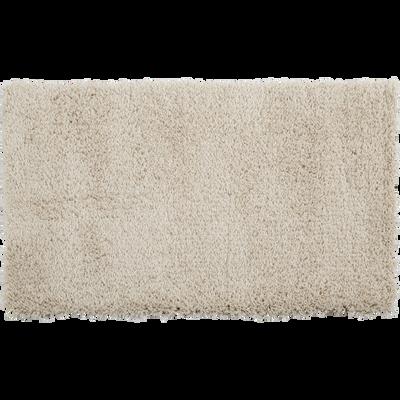 Descente de lit à poils longs écru 60x110cm-KRIS