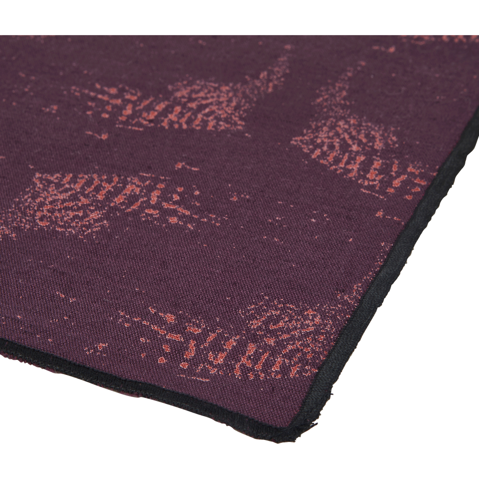 Set de table en lin et coton violet 30x45cm-ATOSIA