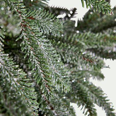 Sapin de Noël vert givré H210cm-TOUNONE