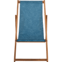 Chilienne à motif laurier bleu figuerolles-UDINE