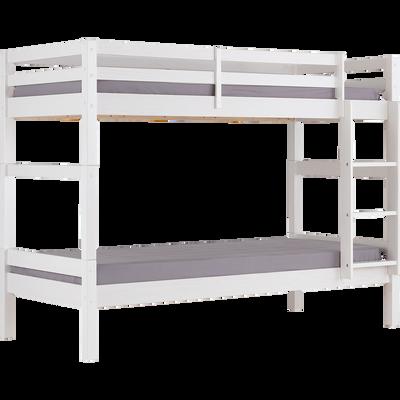 Lits superposé  90x200cm blanc-GIGARO