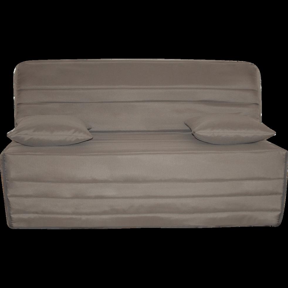 housse pour bz taupe 160cm ha ti housses de clic clac. Black Bedroom Furniture Sets. Home Design Ideas