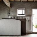 Tête de lit boutonnée Edonia gris clair 110X170cm-TIBOULEN