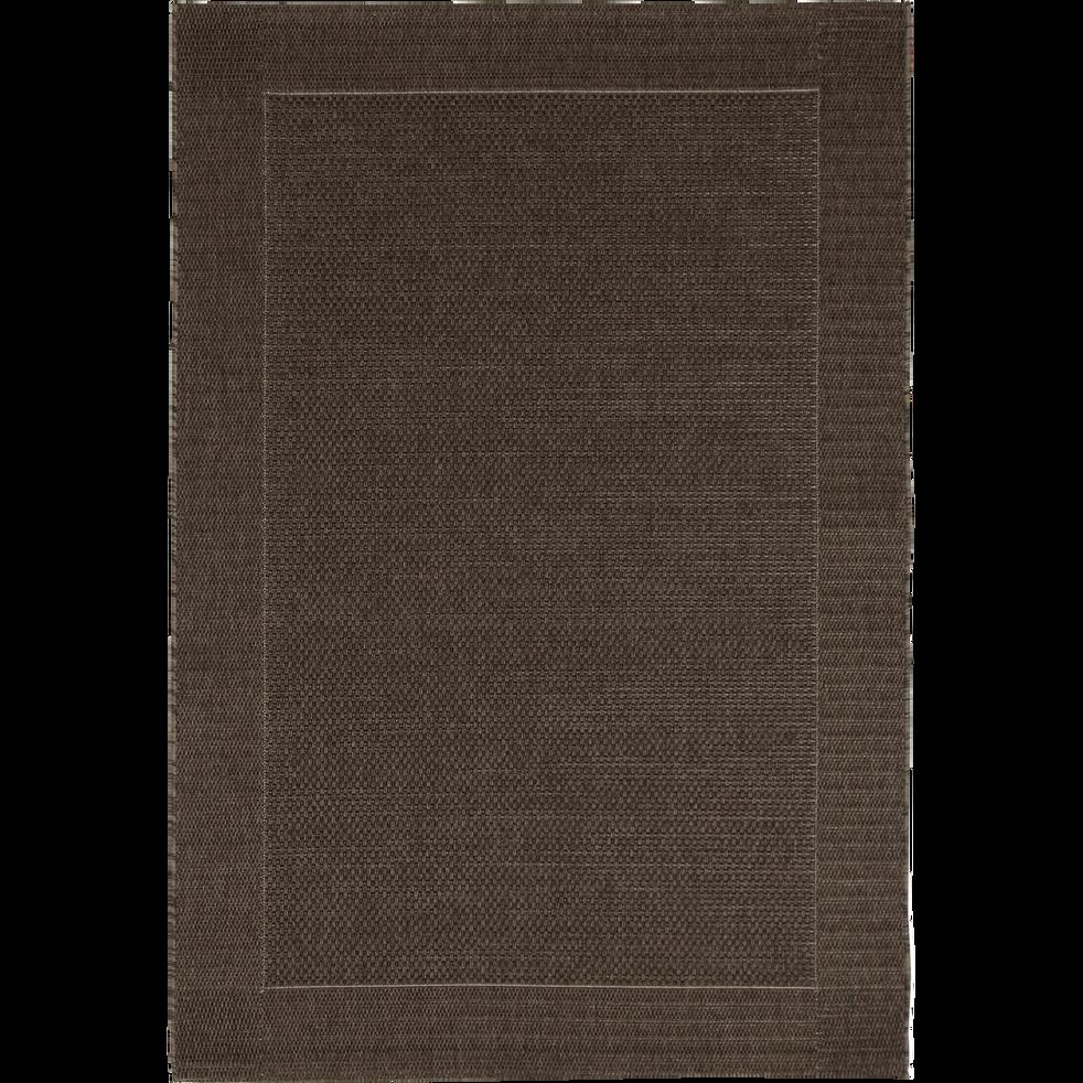 Tapis extérieur et intérieur coloris marron 200x290 cm-KELLY