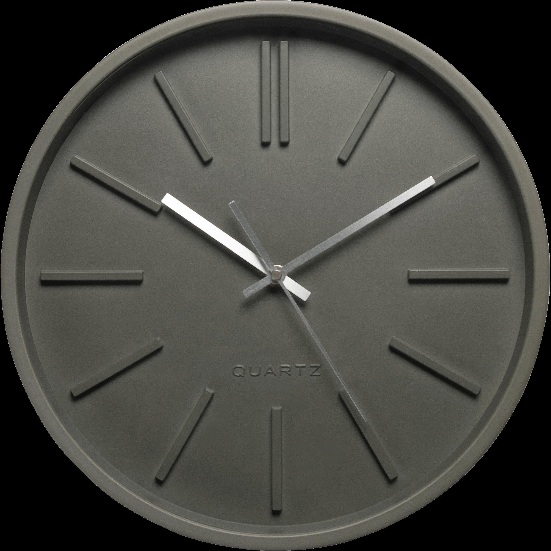 Horloge Murale Vert Cèdre D35,5cm LITTORAL
