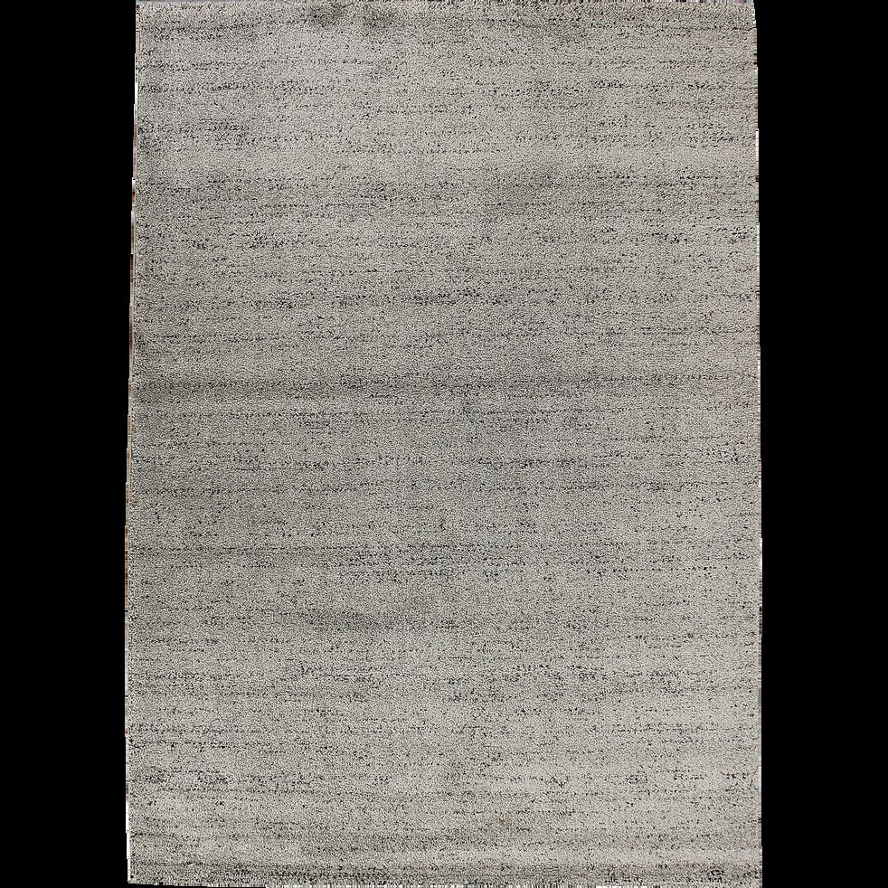 Tapis gris clair moucheté 160x230cm-STESSY