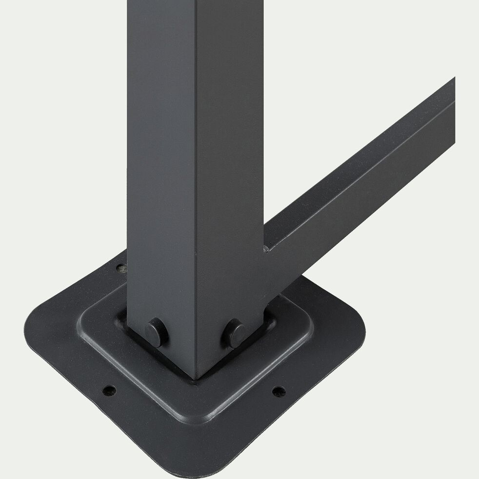 Pergola en aluminium avec 4 panneaux coulissants - 4x3m-ARCADIE