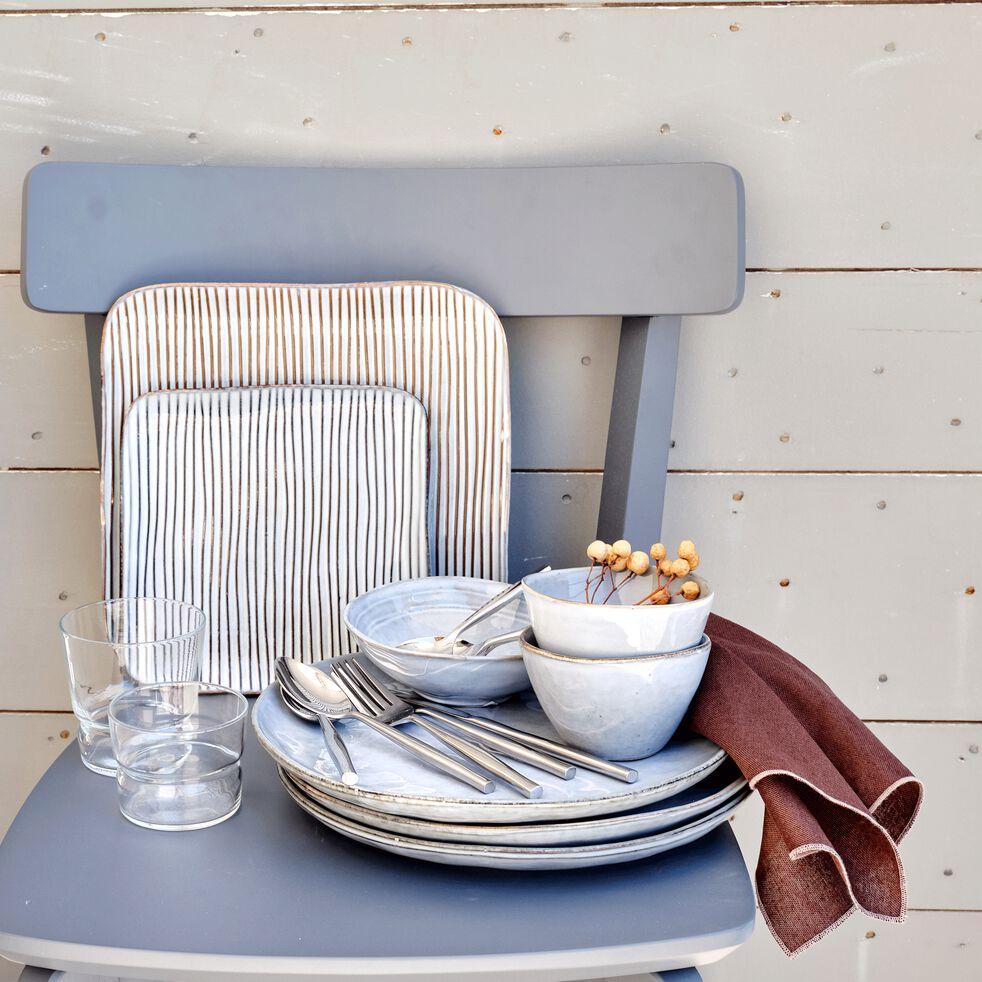 Gamme de vaisselle en grès effet texturé-LARGO