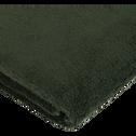 Serviette invité en coton 30x50cm vert cèdre-AZUR