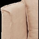 Méridienne gauche en lin beige roucas-VENCE