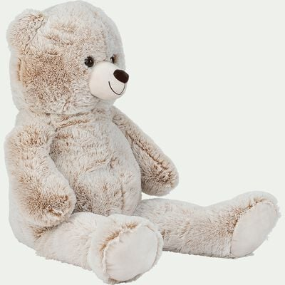 Peluche ours h100cm - beige-Tom