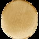 Patère en laiton doré L3xl2,5xH3 cm-HEM