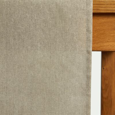 Chemin de table beige pailleté 40x140cm-GAMRA