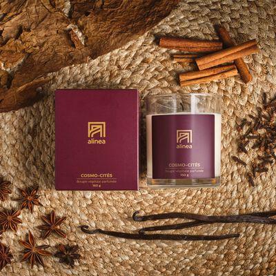 Bougie parfumée Cosmo-cités 160g-COSMO-CITES