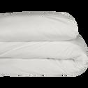 Housse de couette en coton Blanc capelan-CALANQUES