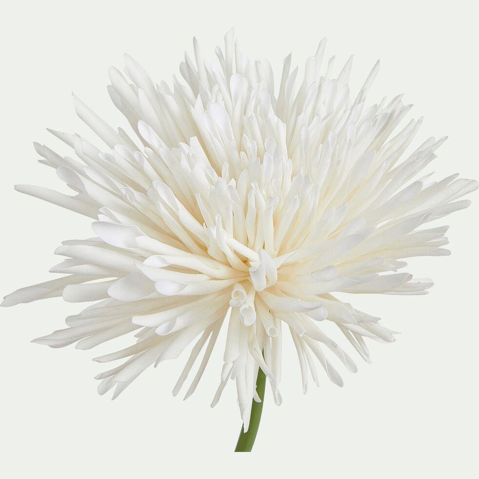 Fleur artificielle chrysanthème - blanc H69cm-MUMS