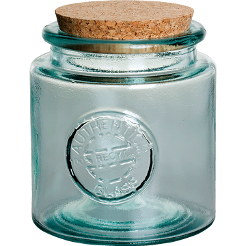 Bocal en verre recyclé 0.5L-AUTHENTIC