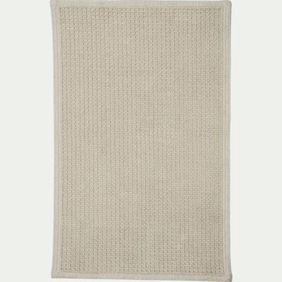 tapis de bain 60x100cm beige roucas-ESCAPADE