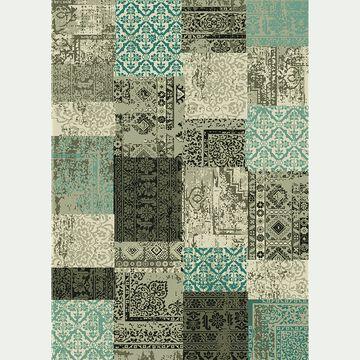 Tapis patchwork - bleu 120x170cm-ARTY