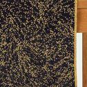 Chemin de table en coton bleu calabrun 50x200cm-GINKO