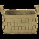 Panier en feutrine marron L38xl26xH23-MERCURE