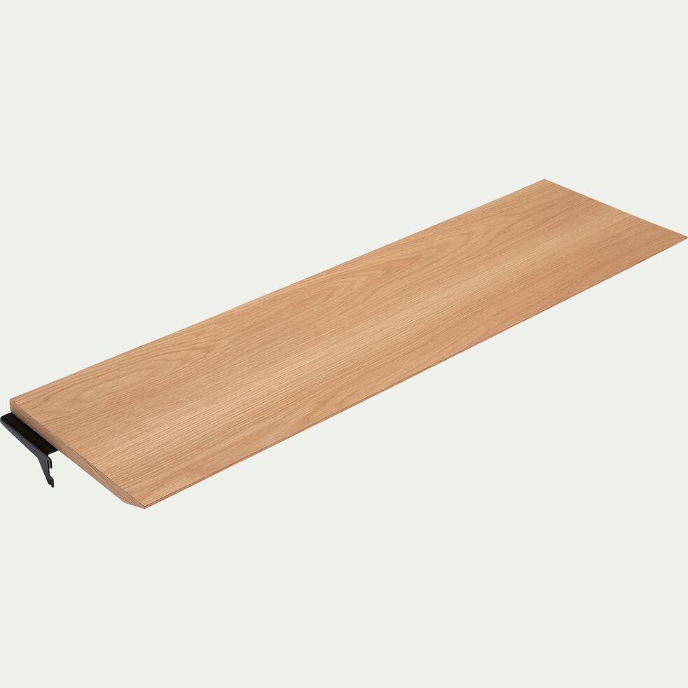 Tablette plaquée chêne L110cm-PORTPIN