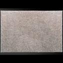 Tapis d'entrée paillasson gris clair 40x60cm-BEN