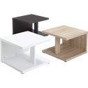Table basse blanc mat-PUMP