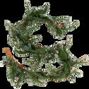Guirlande de feuilles artificielles L265cm-VANEAU