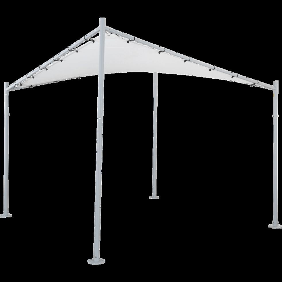 Toile de pergola blanc L3,30 m-BELA