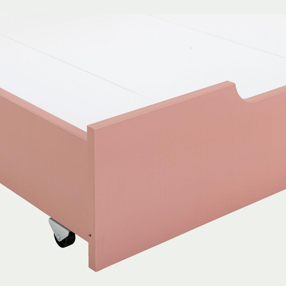Tiroir de lit en bois - rose salina-POLLUX