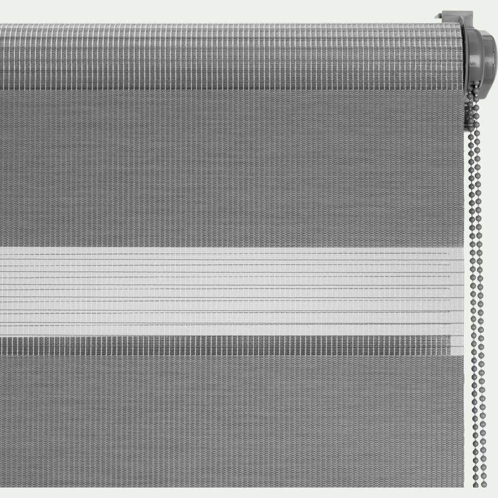 Store enrouleur tamisant - gris anthracite72x190cm-JOUR-NUIT