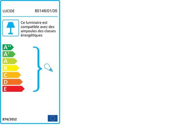 Cordon électrique en tissu bleu figuerolles culot E27 L150cm-ARGUIN