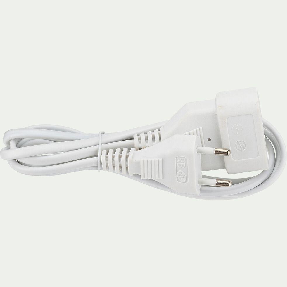 Cordon de rallonge L2m - blanc-CORDON